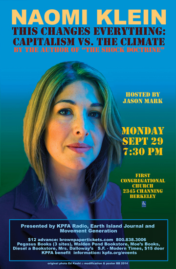 Naomi Klein - This Changes Everything - 9-24-2014
