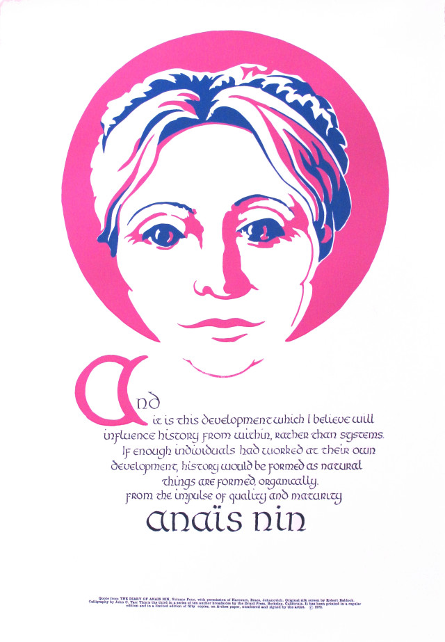 Anais Nin - 1972