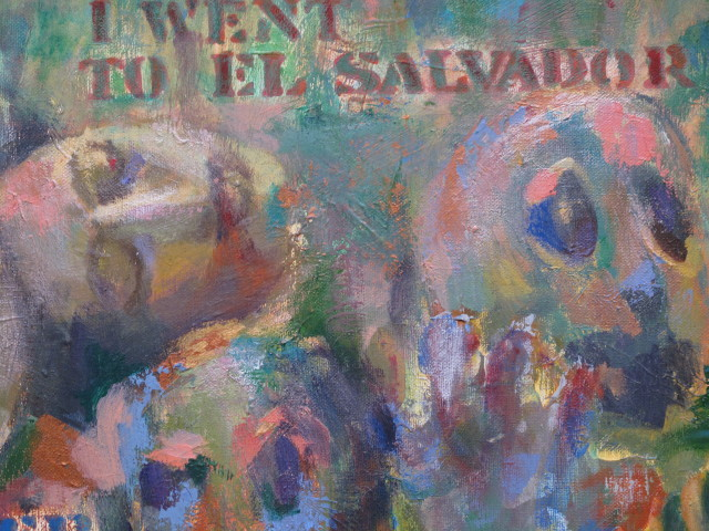 I went to El Salvador (detail) -1991