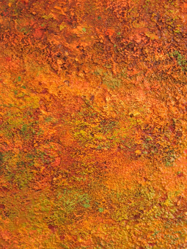 Orange and Ochre (detail) - 2006