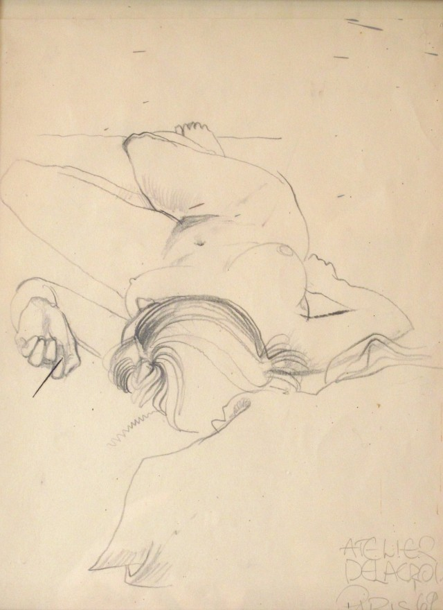 Untitled [Nude, Reclining]