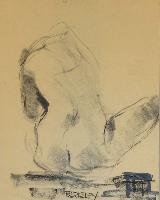 Untitled [Seated Nude]