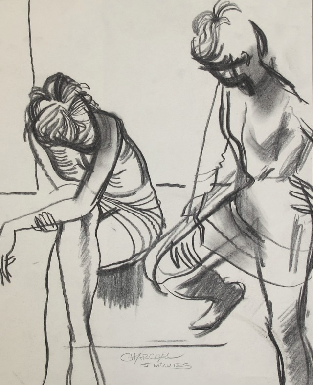 Untitled [Two women]