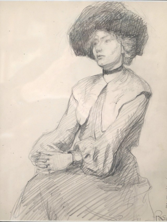 Untitled [Woman with Folded Hands]