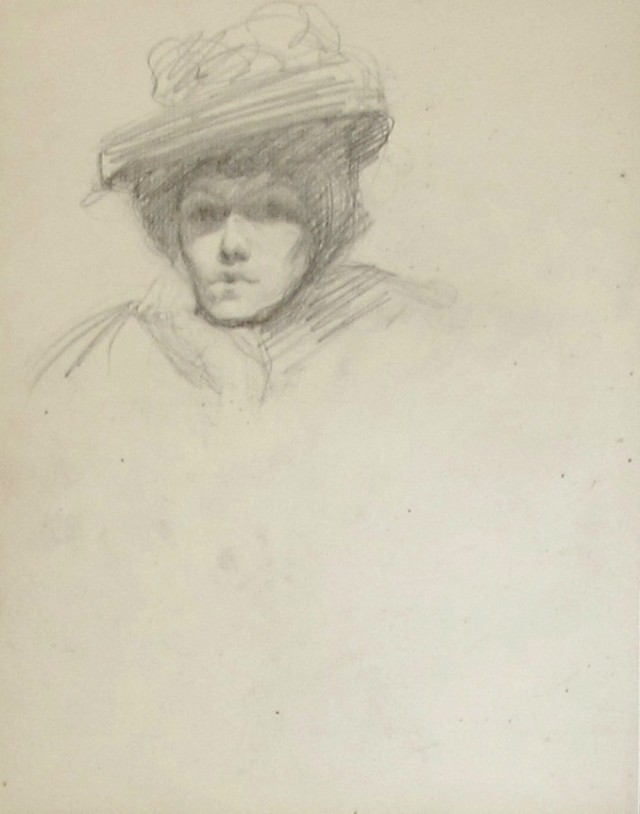 Untitled [Woman with Hat]