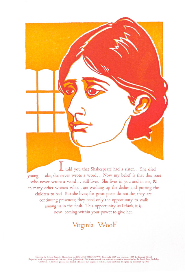 Virginia Woolf - 1973