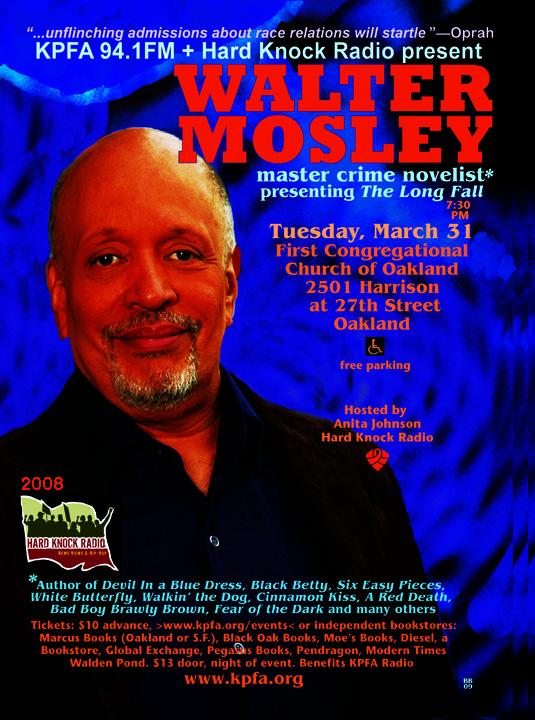 Walter Mosley Master Crime Novelist