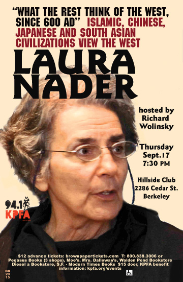 Laura Nader in Berkeley
