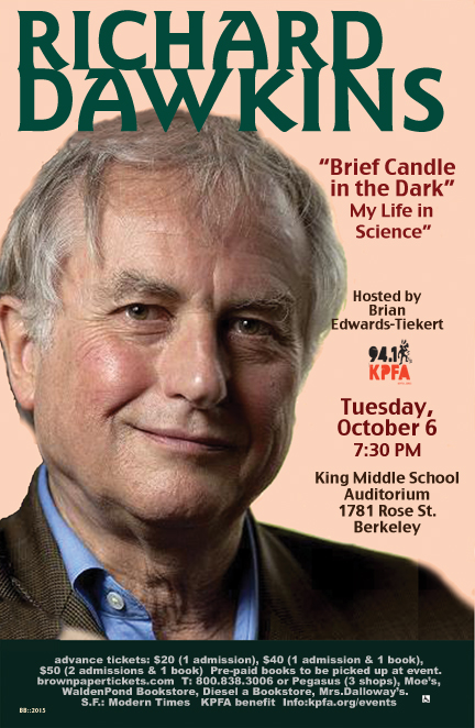 Richard Dawkins in Berkeley