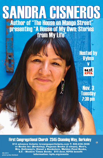 Sandra Cisneros in Berkeley