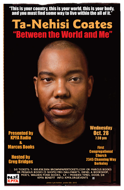 Ta-Nehisi Coates in Berkeley