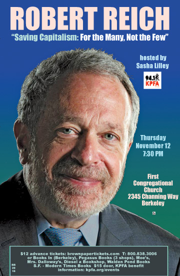Robert Reich in Berkeley