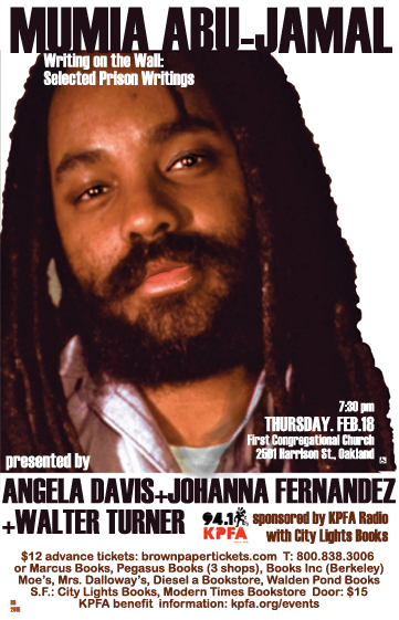 Mumia & Angela Davis in Oakland