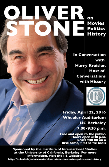 Oliver Stone in Berkeley