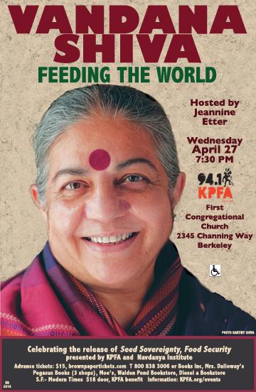 Vandana Shiva 4-27-2016