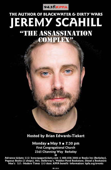 Jeremy Scahill in Berkeley