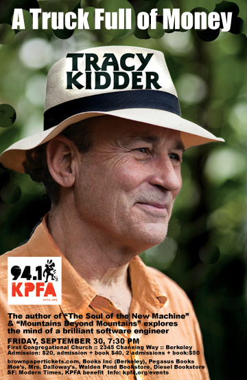 Tracy Kidder in Berkeley