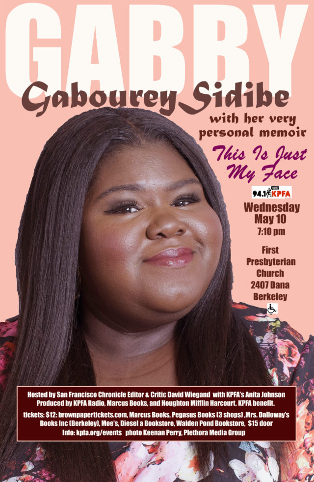 Gabourey Sidibe in Berkeley