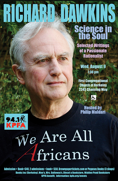 Richard Dawkins in Berkeley-1