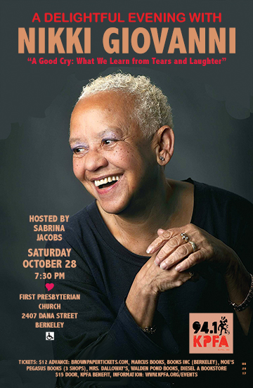 Nikki Giovanni in Berkeley
