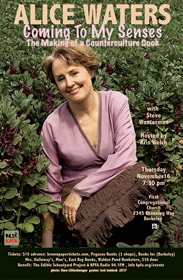 Alice Waters in Berkeley