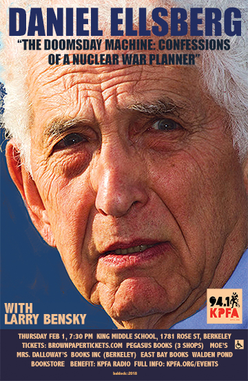 Daniel Ellsberg in Berkeley.2018