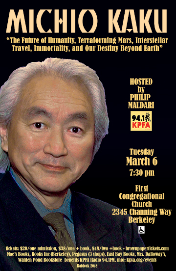 MICHIO KAKU in Berkeley