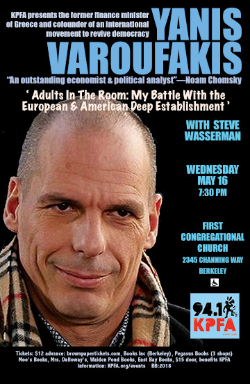 Varoufakis in Berkeley