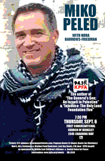 miko peled in Berkeley