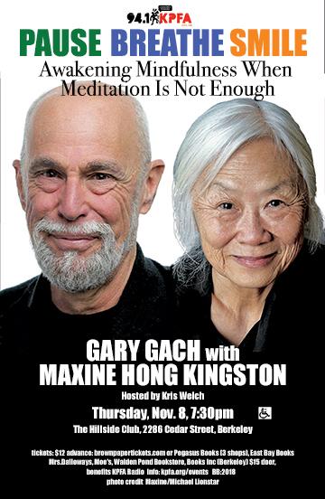 Gary Gach in Berkeley