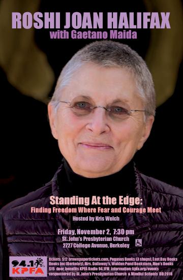 Joan Halifax in Berkeley