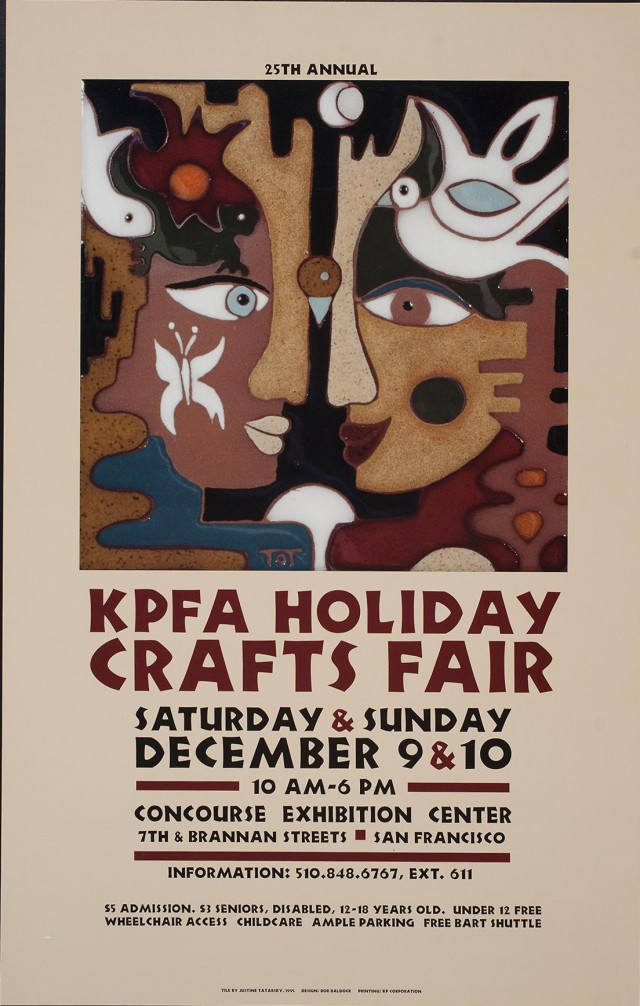 25th Annual KPFA Holiday Crafts Fair