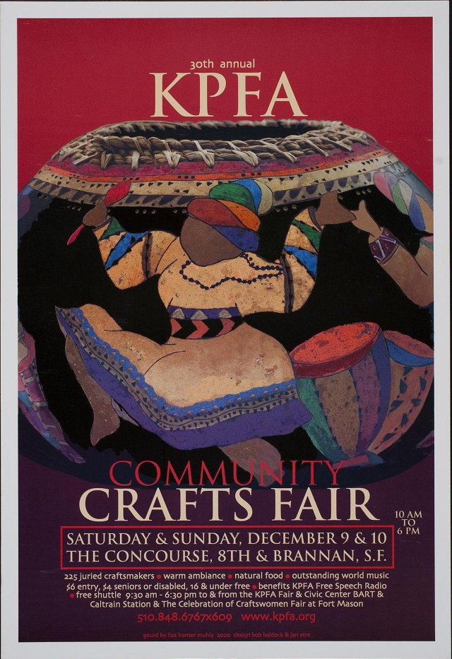 30th Annual KPFA Community Crafts Fair