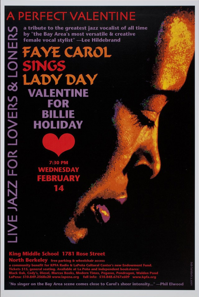 A Perfect Valentine | Faye Carol sings Billie Holiday
