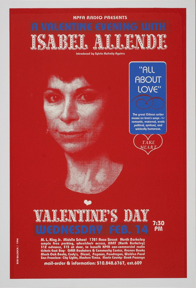 A Valentine Evening with Isabel Allende