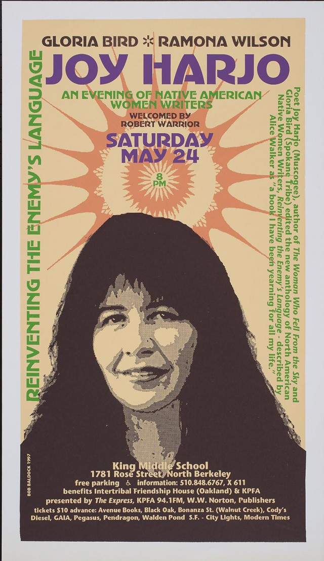 An Evening of Native American Writers | Joy Harjo