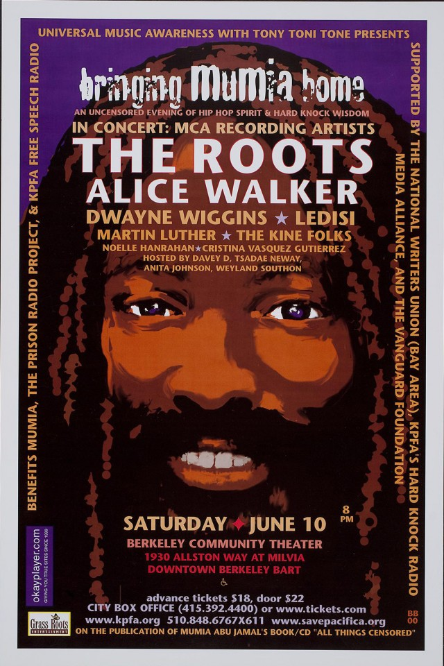 Bringing Mumia Home | Alice Walker | The Roots