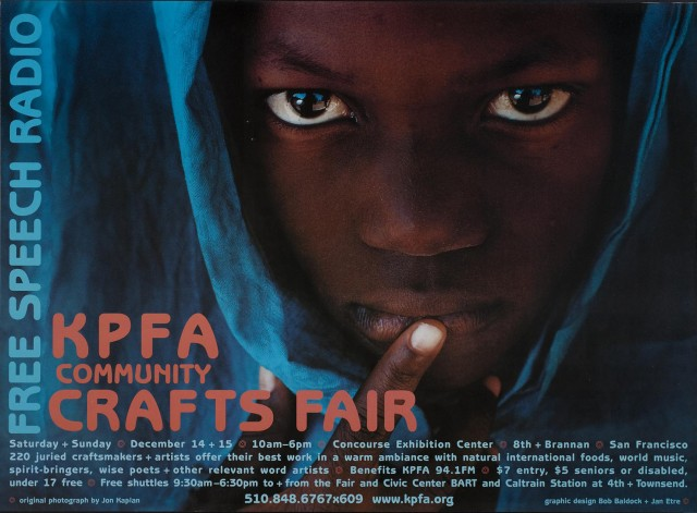 KPFA Commuty Crafts Fair X