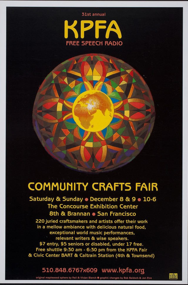 KPFA Commuty Crafts Fair XX