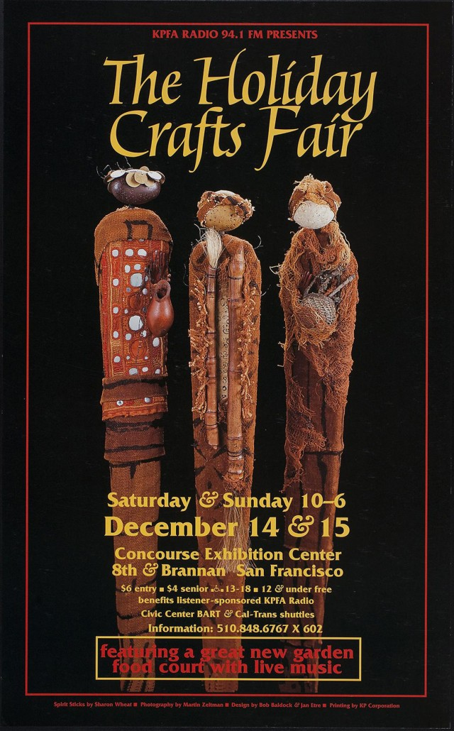 KPFA Holiday Crafts Fair XX