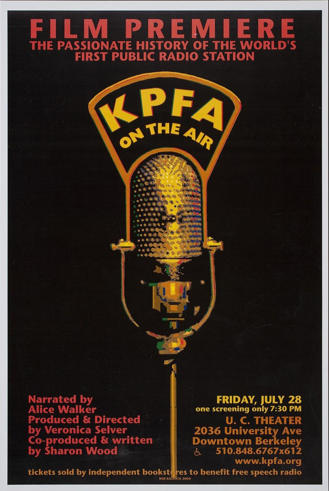 KPFA On The Air | Film Premiere