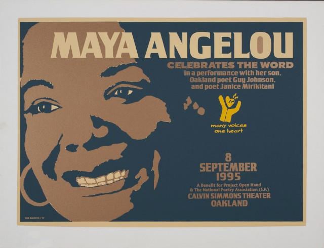 Maya Angelou Celebrates The Word