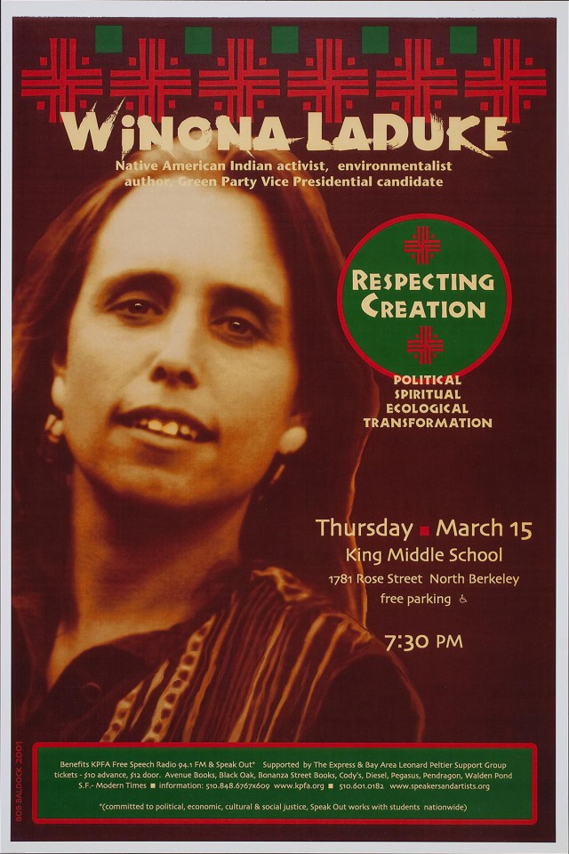 Respecting Creation | Winona LaDuke