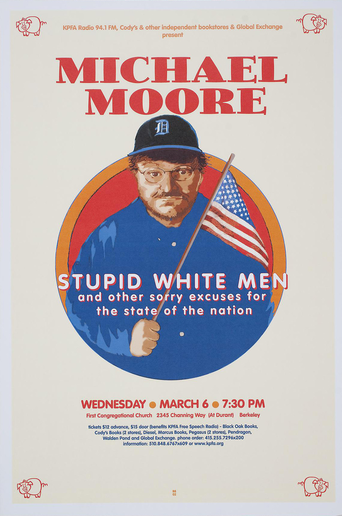 a review of stupid white men a book by michael moore Michael moore becomes for the bestselling nonfiction book in the country, stupid white men has and a review on a bbc show called his book.