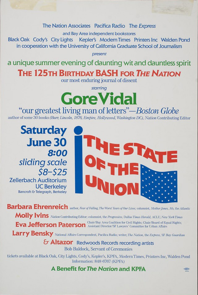 The State of the Union | Gore Vidal