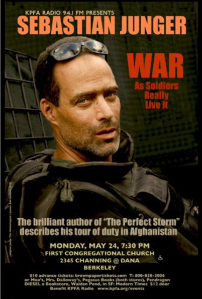 War as Soldiers Really Live It | Sebastian Junger