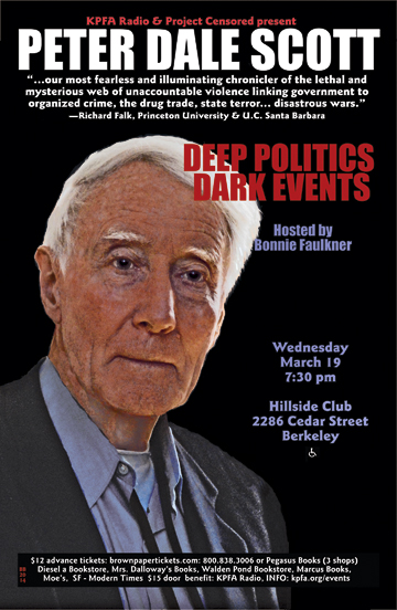 Deep Politics- Dark Events | Peter Dale Scott