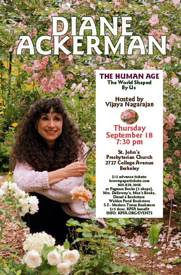 diane ackerman in berkeley