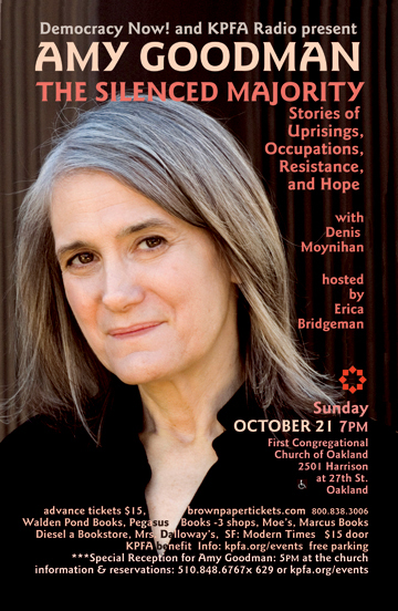 Amy Goodman - Oct 2011