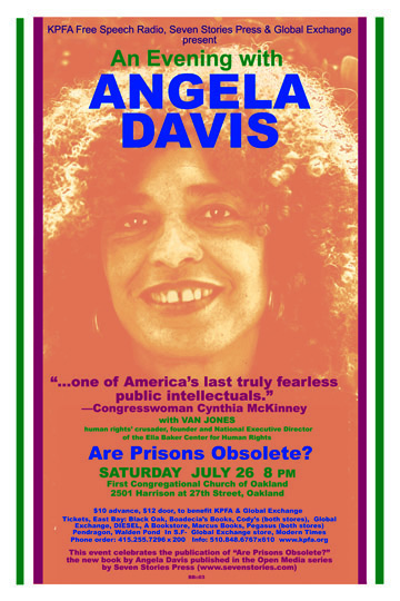 Are Prisons Obsolete - Angela Davis - July 2003